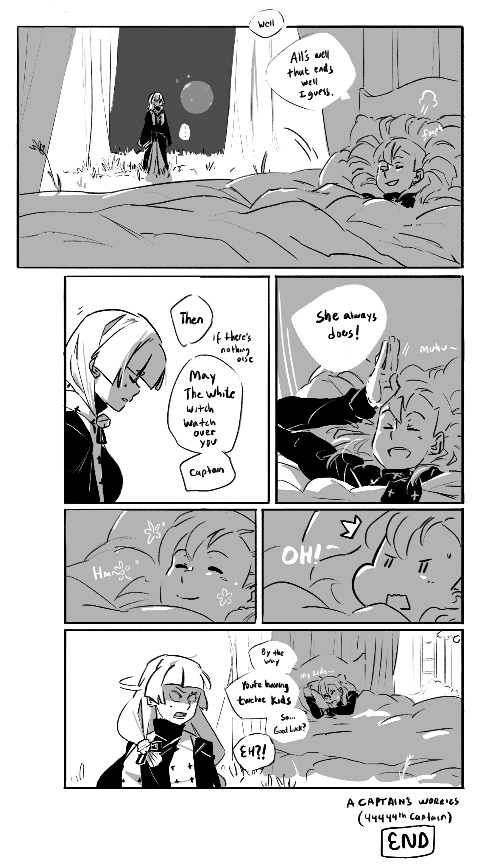 [ A Captain's Worries - 18 ]