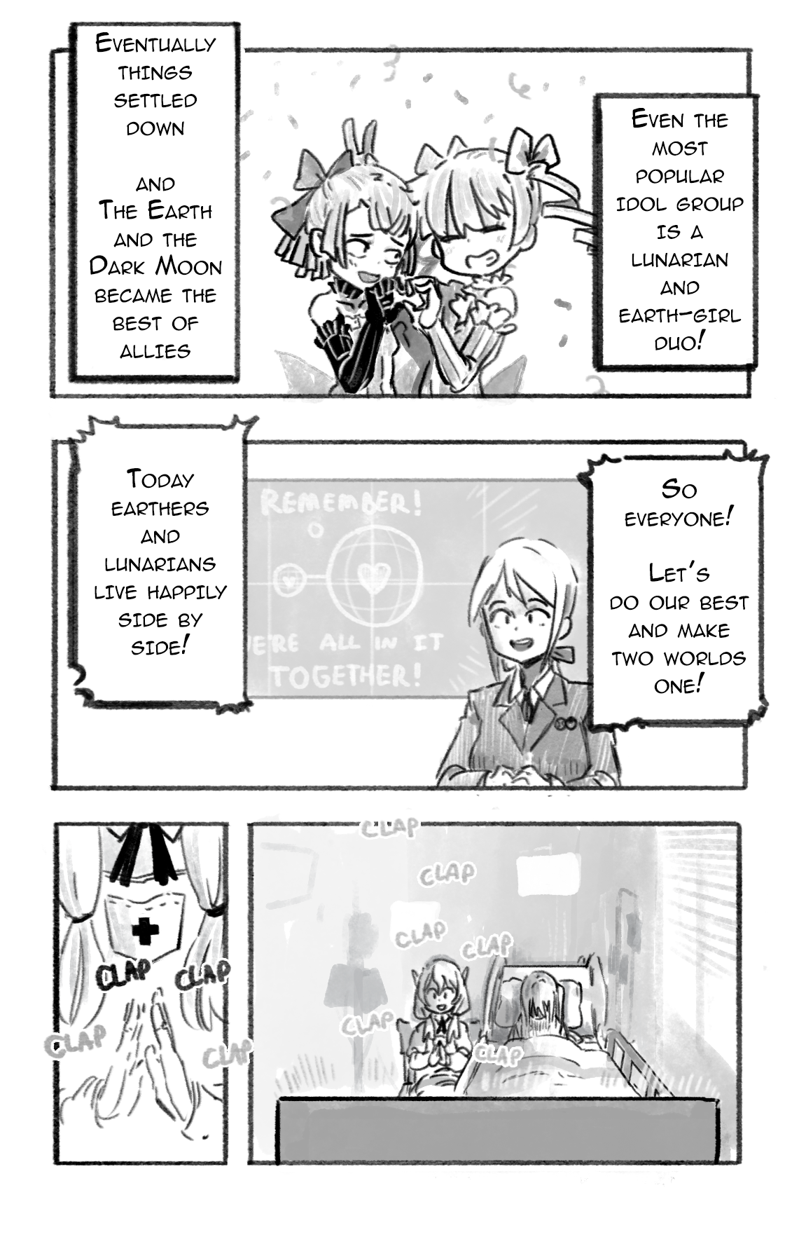 [ Maria Starlight: The Lunarian War and After - 6 ]