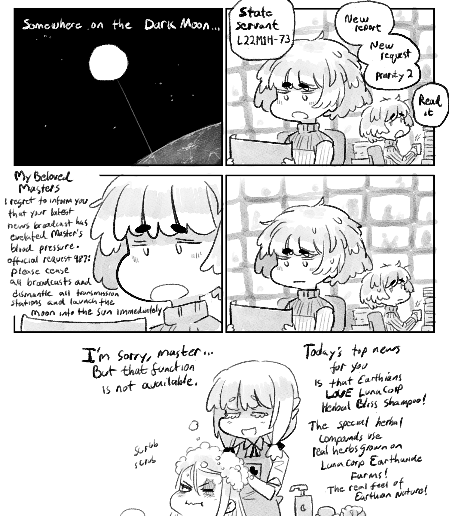 [ Maria Starlight: The Lunarian War and After - 29 ]