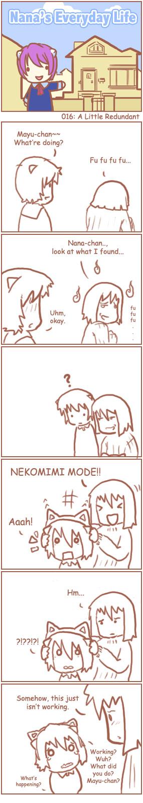 [Nana's Everyday Life - strip 16]