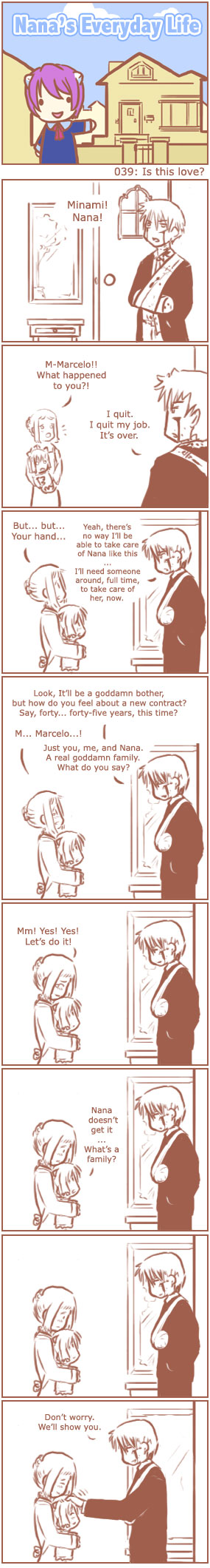 [Nana's Everyday Life - strip 39]