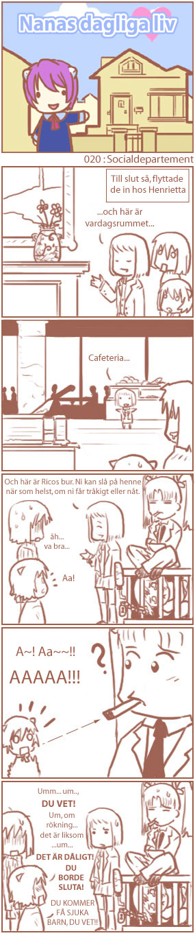 [Nana's Everyday Life - strip 20]