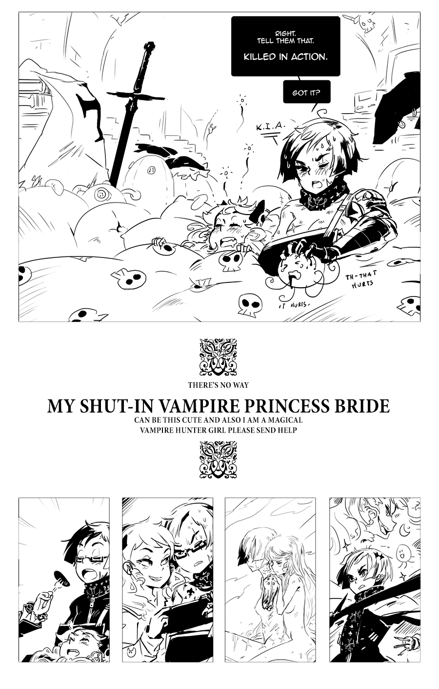 [ My Shut-In Vampire Princess - 2 ]